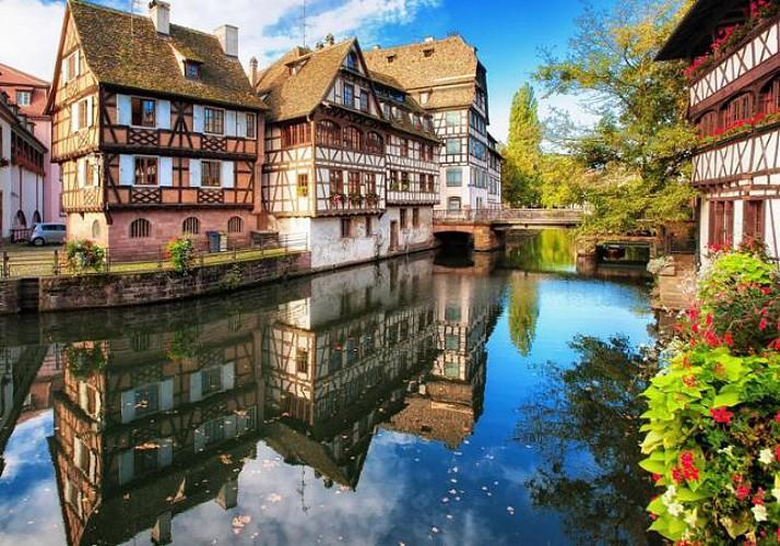 Grand tour de Strasbourg  en vélo calèche – 1h20