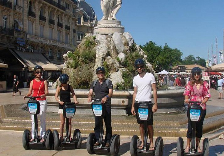 Grand Tour of Montpellier by Segway - 2 hrs