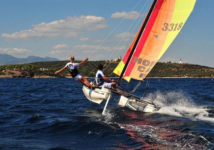 Stage d'initiation au catamaran à Porto Vecchio - 5h