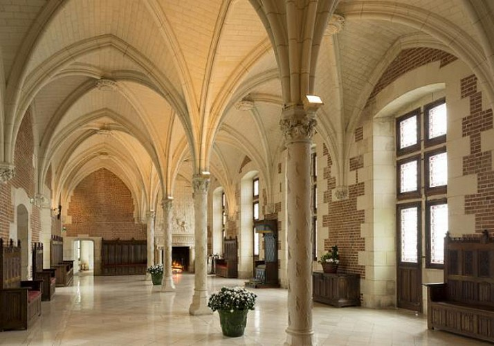 The Royal Château d'Amboise – Visit with optional audio guide