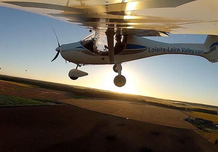 Ultralight Aviation Initiation Session in Val de loire – 30 minutes