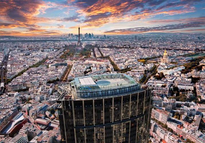 Billet Tour Montparnasse (56ème étage) - Vue à 360° de Paris