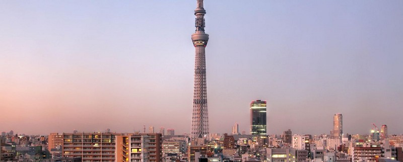 Tickets for Tokyo Skytree and tour of Asakusa