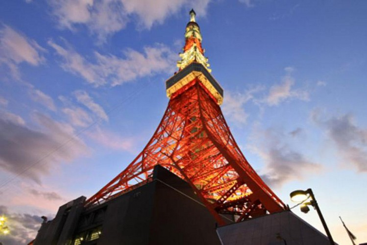 Tour of Tokyo by bus and tickets to Tokyo Tower – in English