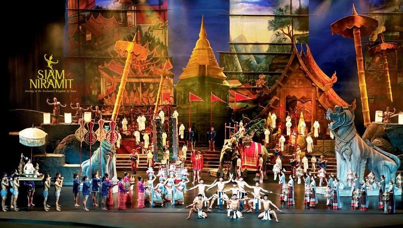 Billet pour le spectacle « Siam Niramit »