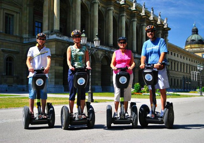 Full Guided Tour of Munich by Segway in 4 hrs