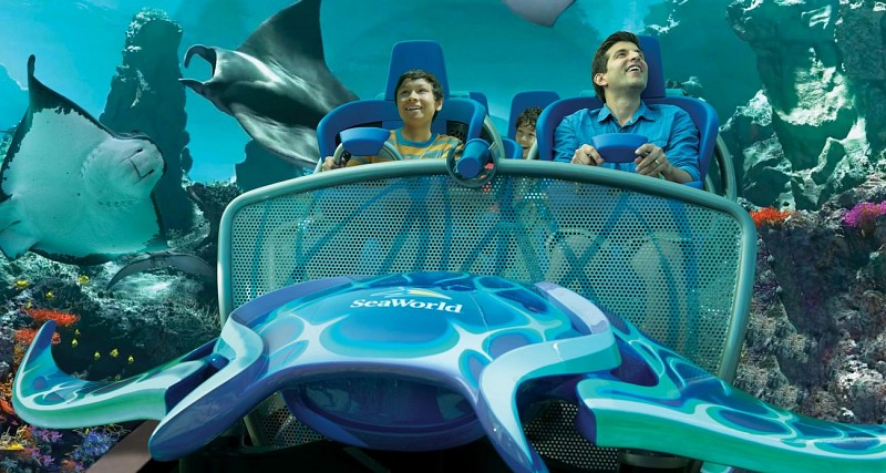 Billet 2 en 1 : SeaWorld & Aquatica – Coupe-file à l'entrée