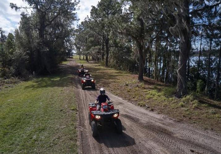 Quad bike/ ATV ride in the countryside around Orlando