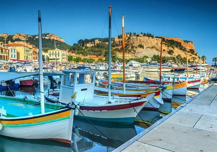 Croisière dans les Calanques, visite de Marseille et d'Aix-en-Provence