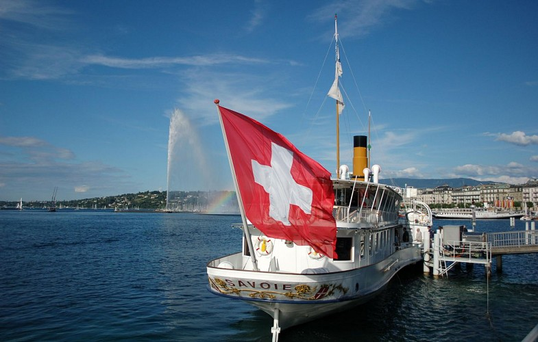 1 Hour Cruise on Lake Geneva – Departing From Geneva