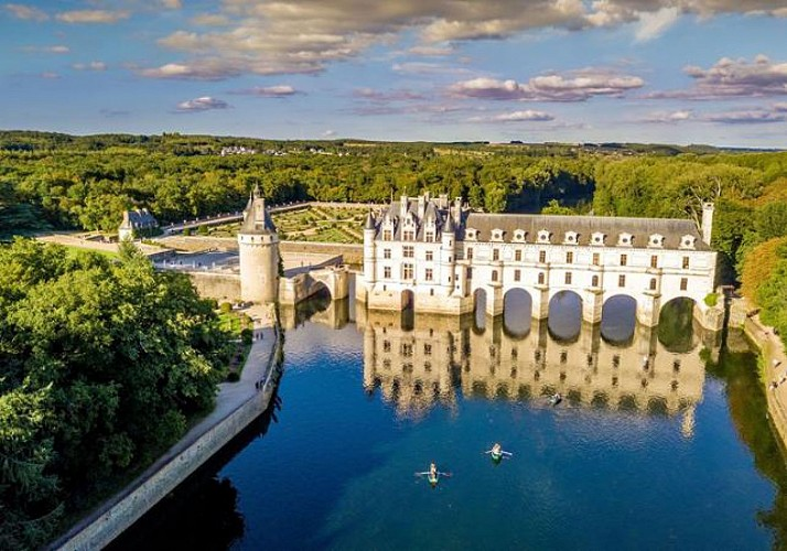 Helicopter Flight over the Great Châteaux of the Loire Valley