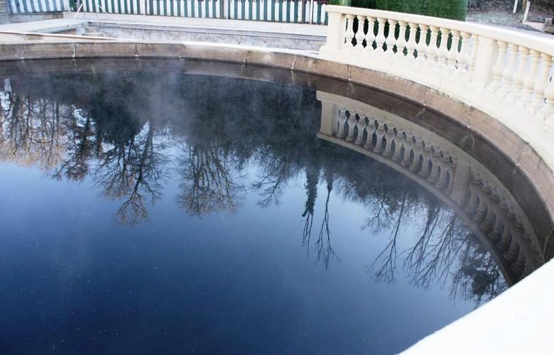 Thermes et bassin romain