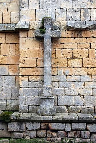 Croix de l' Eglise de Molières