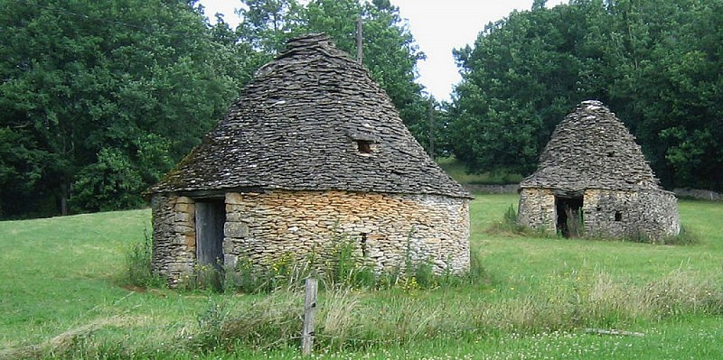 Cabanes en pierre sèche