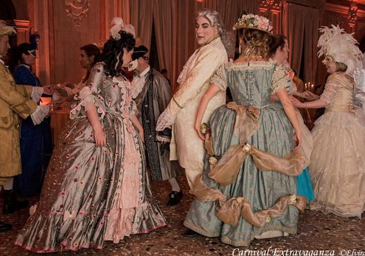 Carnaval de Venise - Dîner spectacle en costume à l'hôtel Monaco & Grand Canal
