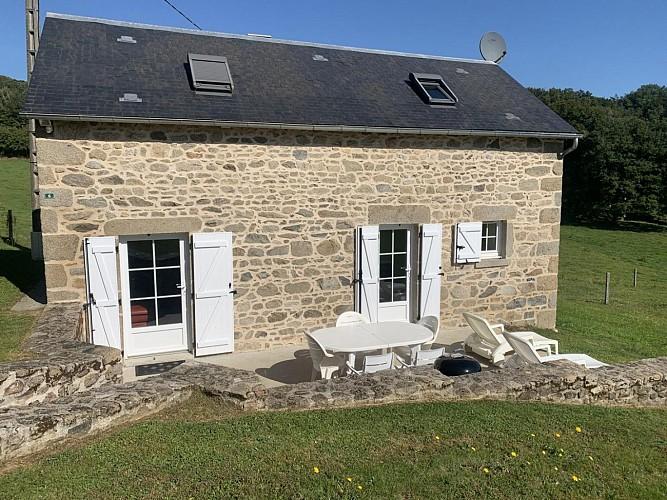 Location Gîtes de France - JANAILLAT - 4 personnes - Réf : 23G1386