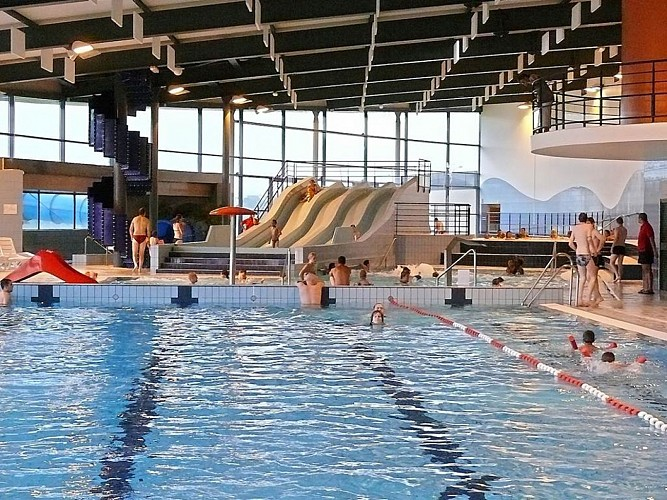 Piscine du Centre aqualudique Rivéa