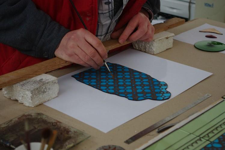 Création et restauration de vitraux - Artiste Verrier