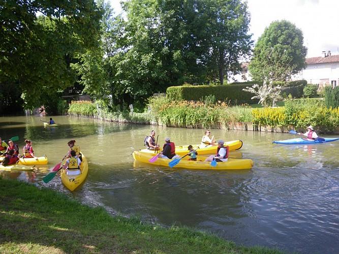 Kayak canoë argonnais