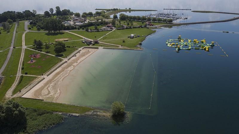Plage de Nuisement - Lac du Der