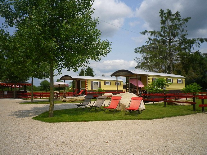 Camping Route du Der - Moncetz-l'Abbaye