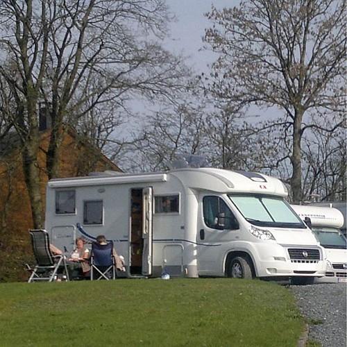 """Camping Car à la Ferme """"Relais équestre des Récolets"""""""