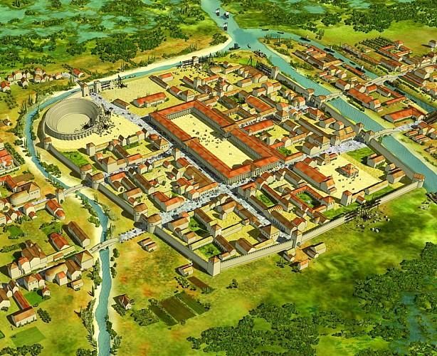 La rue de la Cité - Ex Voie d'Agrippa