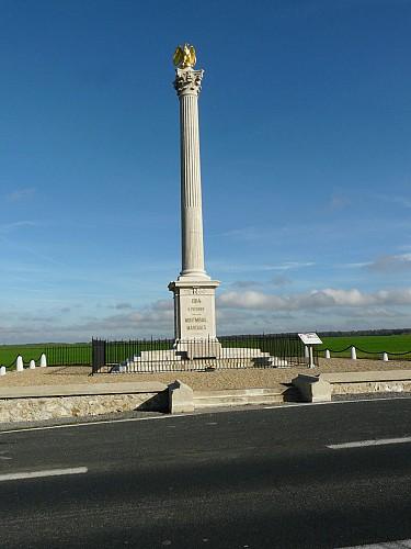 Colonne Campagne de France 1814 Montmirail