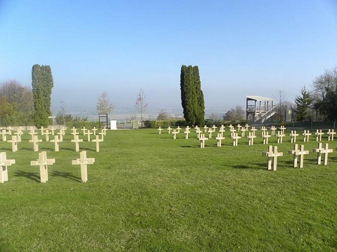 Cimetière militaire Français de la Marfée