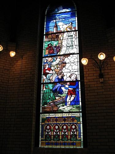 L'église Sainte-Jeanne-d'Arc