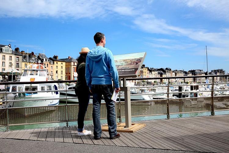 Table de lecture impressionniste n°2 - L'avant-port de Dieppe