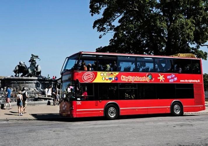 Copenhagen Hop-On, Hop-Off Bus Tour: Full City Circuit – 72-hour pass