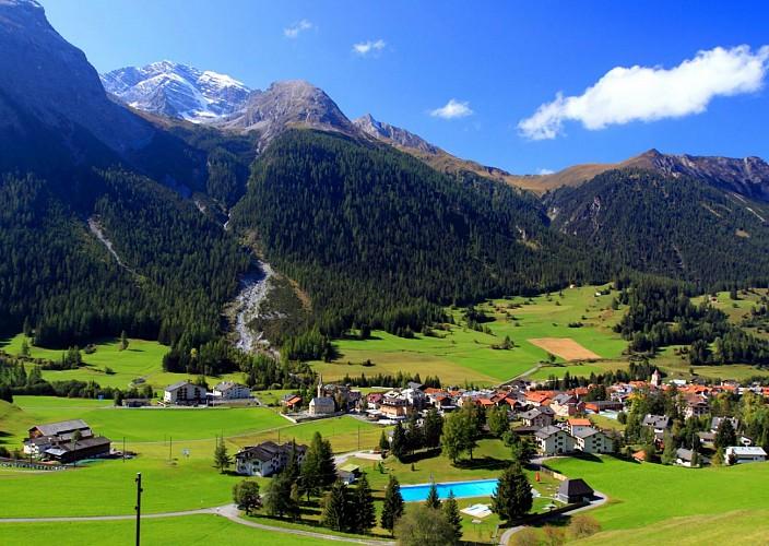 Day Trip to St Moritz, Switzerland, by the Bernina Express Train