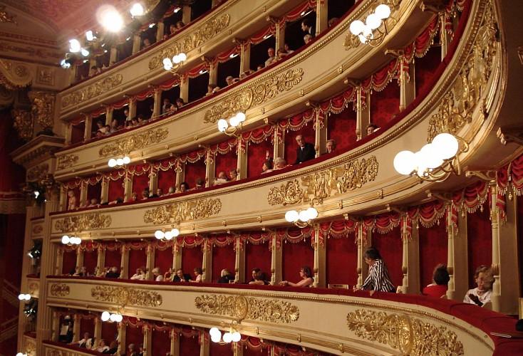 Visite du théâtre et du musée de la Scala