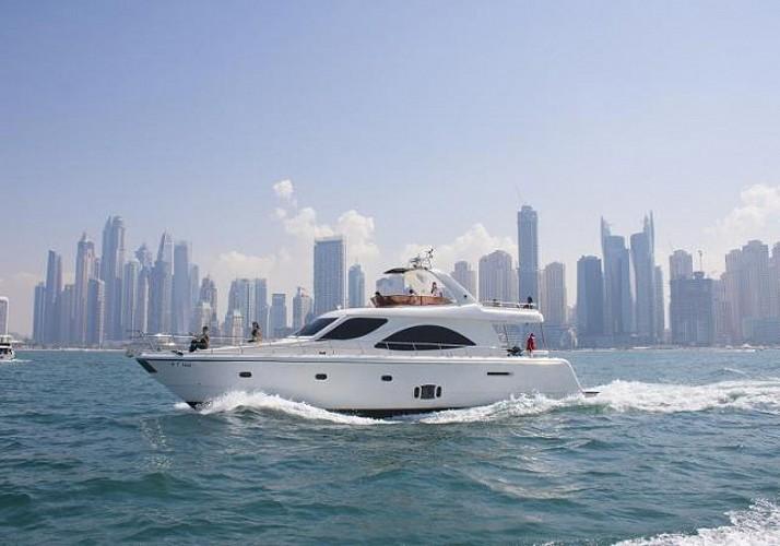 Croisière sur un yacht à Dubai - Petit-déjeuner, déjeuner ou dîner