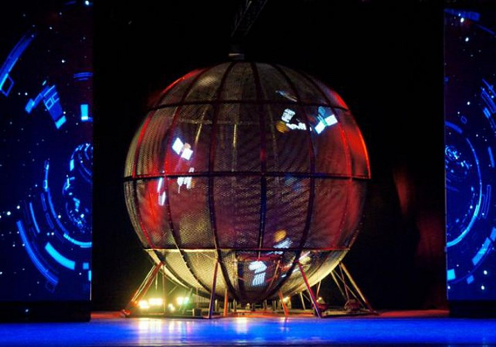 Acrobatic Show at Beijing's Chaoyang Theatre