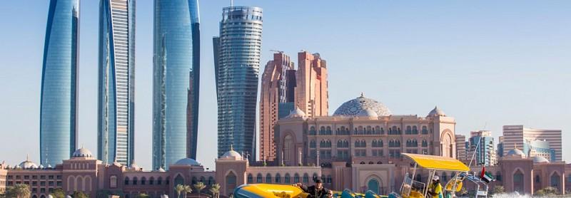 Croisière en Zodiac à Abu Dhabi – Circuit Emirates Palace, La Corniche et Lulu Island (1h)