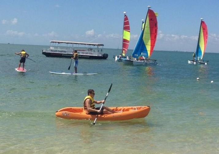 Location de kayak dans la baie de Biscayne à Miami