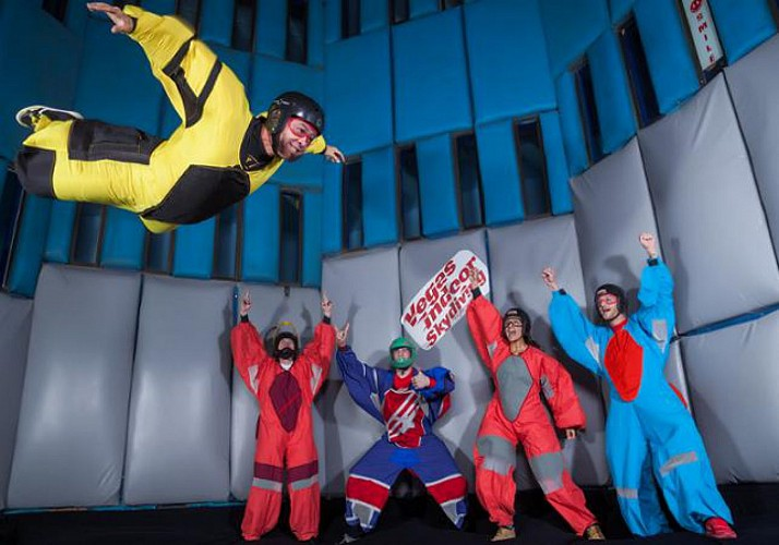 Indoor skydiving : simulateur de chute libre - Las Vegas