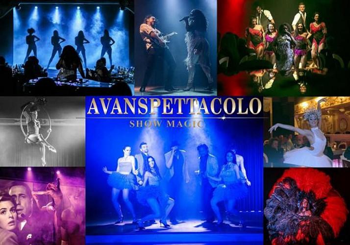 Dîner spectacle - Cabaret «Avanspettacolo» à Venise