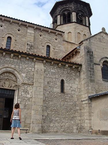 Accueil, mode d'emploi visite version déficience sensorielle église Saint-Martin de Thuret