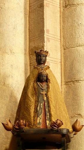 Vierge noire et choeur