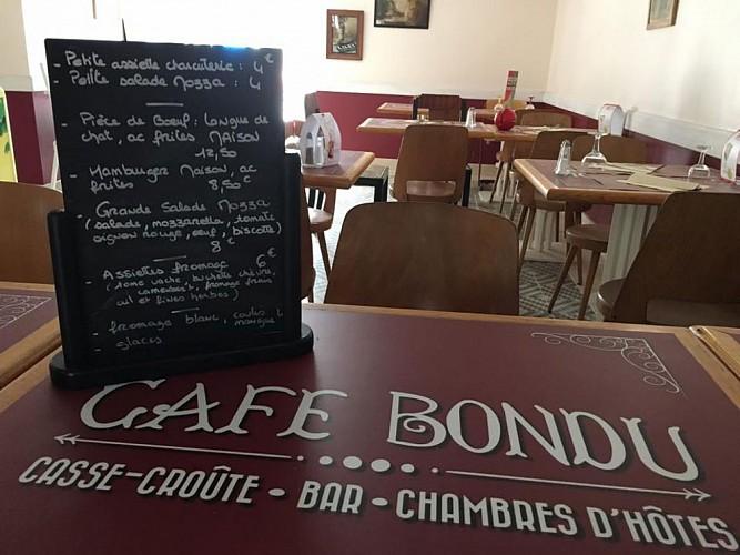 CAFÉ BONDU