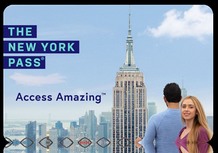 New York Pass – Access to Over 80 Attractions – Valid from 1, 2, 3, 4, 5, 6,  7 or 10 days