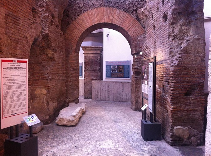 Billet Musée du Stade de Domitien (UNESCO) sous la place Navona - Rome