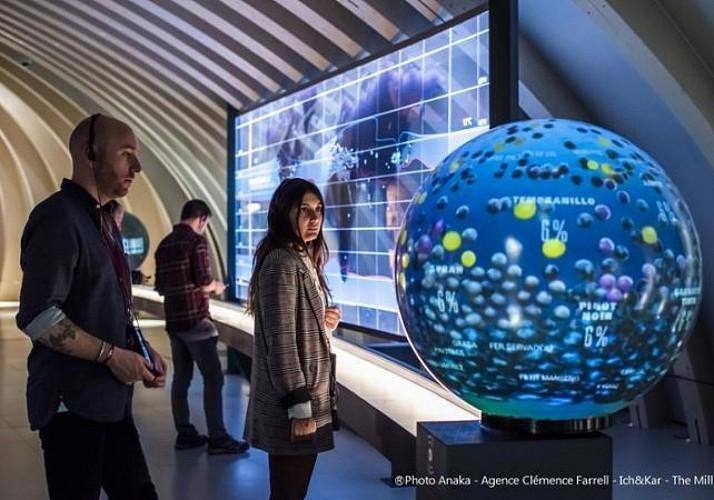 Billet coupe-file - Cité du Vin à Bordeaux avec dégustation