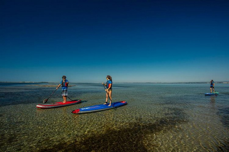 LOCATION STAND-UP-PADDLE 2H00