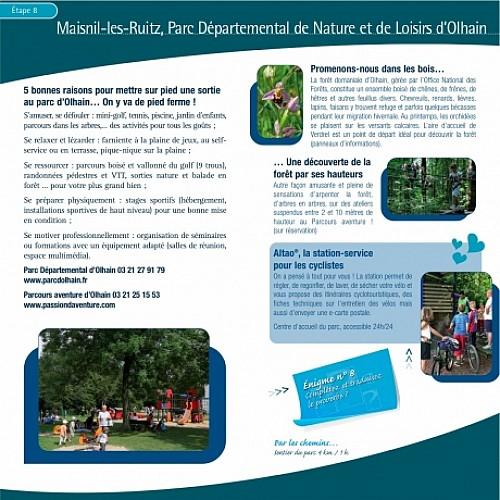 ETAPE 8 : Maisnil-les-Ruitz, Parc Départemental de Nature et de Loisirs d'Olhain