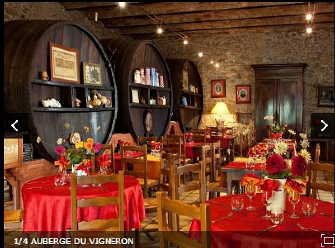 Auberge du Vigneron tél : 04 68 45 03 00