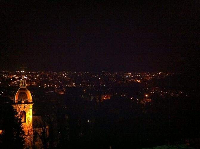 Magnifique vue d'ensemble sur Besançon